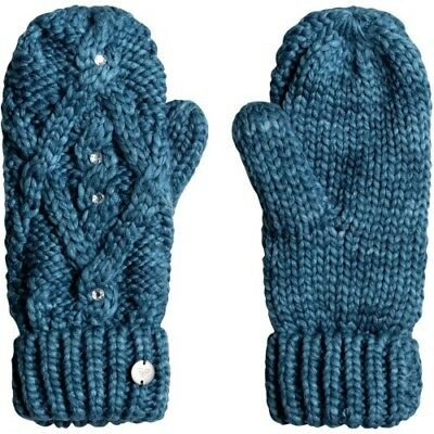 Roxy Shooting Star Womens Gloves Outdoor Mitts - Ink Blue One Size