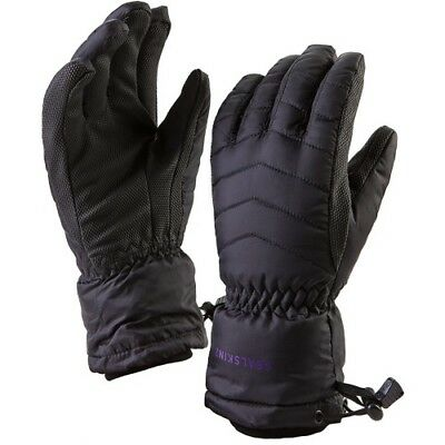 Sealskinz Sub Zero Womens Gloves - Black All Sizes
