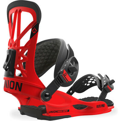 Union Flite Pro Mens Board Bindings - Red All Sizes