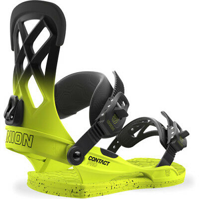 Union Contact Pro Mens Board Bindings - Volt Yellow All Sizes