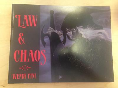 Law and Chaos     Wendy Pini     First Print     1987