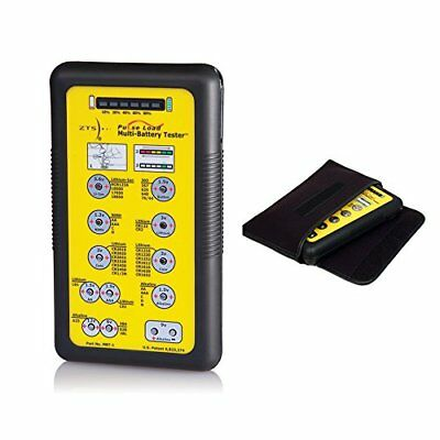 ZTS Multi Battery Tester (MBT-1) Bundle with Soft Carrying & Storage Pouch