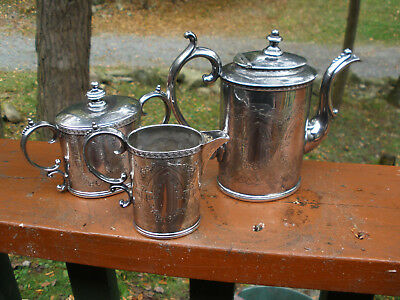 Reed & Barton Tea Set