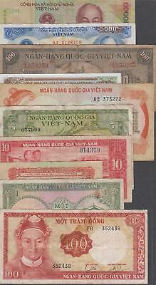 10 Banknotes from Vietnam