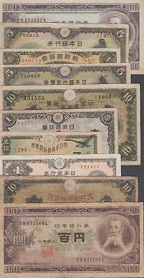 10 Banknotes from Japan