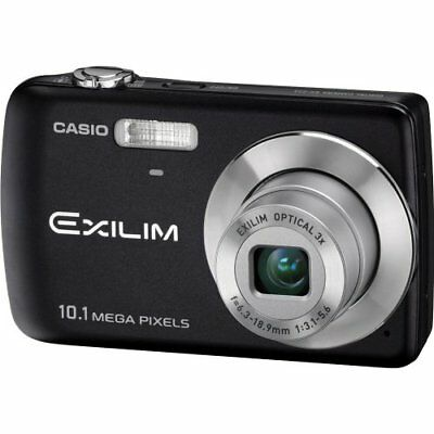 Casio EX-Z33BK 10.1MP Digital Camera with 3x Optical Zoom and 2.5 inch LCD Black