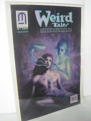 Weird Tales Illustrated #1 John Bolton Color Guide Cover + 10 Interior Pages