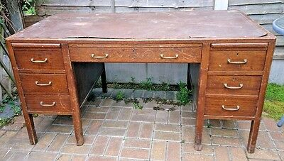 Antique Cooke's Finsbury Ltd  Office Desk Drawers...we Can Deliver