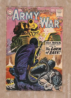 Our Army at War #92 1960 GD 2.0