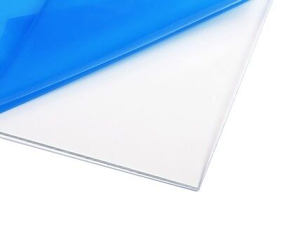 4MM CLEAR TRANSPARENT PLASTIC SHEET ACRYLIC PERSPEX CUSTOM SIZES BEST ON eBay