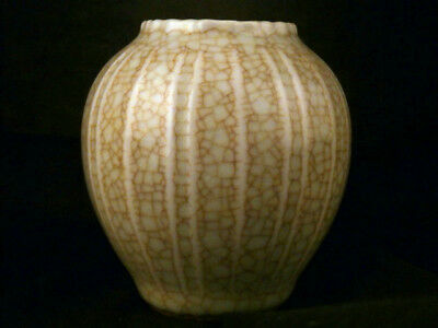 Good Quality Chinese Song Dy White Porcelain Carved Little Jar Q056