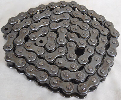 Diamond 10' Heavy Duty Roller Chain Size 120 With Connecting Link