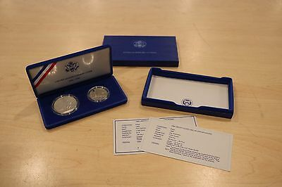 United States Mint 1886-1986 Liberty Coins w/ COA No Outer Sleeve #1