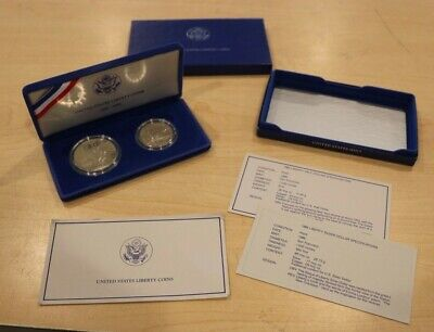 United States Mint 1886-1986 Liberty Coins w/ COA No Outer Sleeve #2