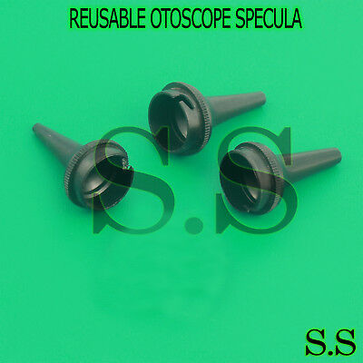 3 OTOSCOPE EAR Disposable Specula 2.5, 4, 5mm