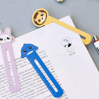 Hot Sale 30 Pcs/pack Bookmark Paper Animals Promotional Gift Stationery Film New