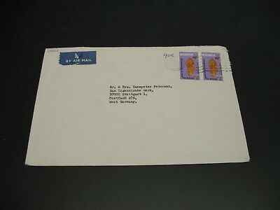 Nigeria 1982 airmail cover to Germany *22538
