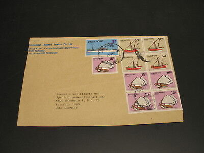 Singapore 1984 cover to Germany *21017
