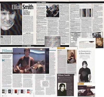 ELLIOTT SMITH : CUTTINGS COLLECTION -interview- clippings