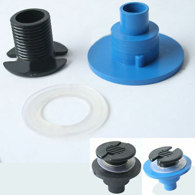 New Fish Tank Water Drain Joint Fittings Joint PVC Connectors Aquarium Accessory