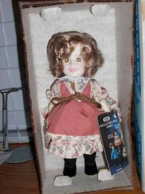 "Ideal ~ Vintage 1982 Vinyl Suzannah Mounties Shirley Temple 8"" Doll"