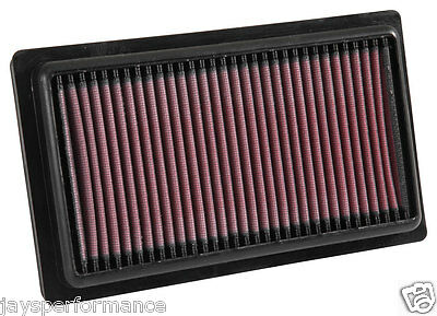 KN AIR FILTER REPLACEMENT FOR HYUNDAI i20 II L4-1.4L DSL; 2014-2016