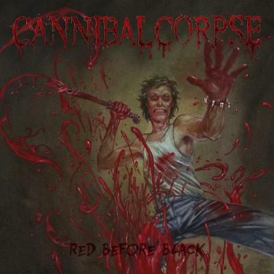 CANNIBAL CORPSE - Red Before Black  LP  JEANS BLUE MARBLED