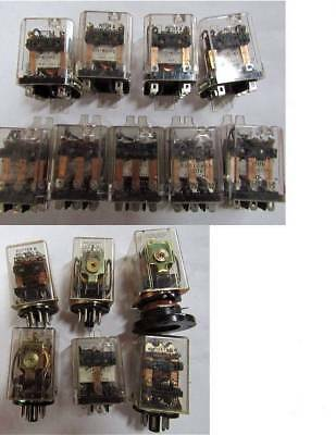 LOT of ( 30+ ) POTTER & BRUMFIELD & OTHERS INDUSTRIAL RELAYS - some new in box