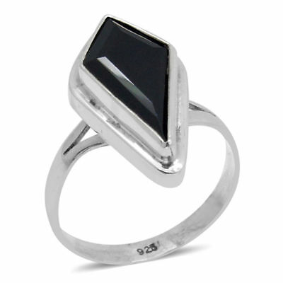 Boi Ploi Black Spinel Ring in Sterling Silver 11.430 Ct