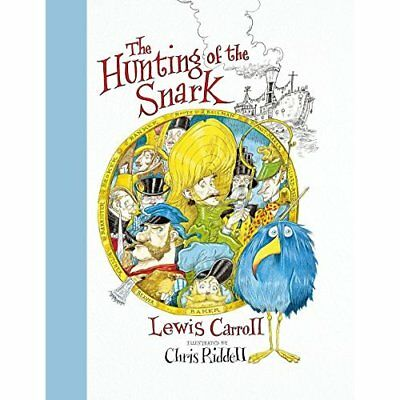 The Hunting of the Snark - Hardcover NEW Carroll, Lewis 01/04/2018