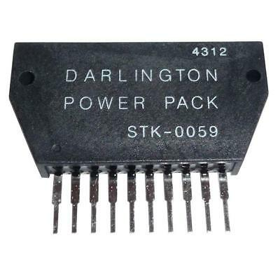 Hybrid-IC STK0059 ; Power Audio Amp