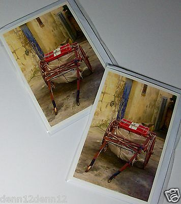 LESS 40%!! BLANK CARDS x 12, FINE ART, JUST 15p, WRAPPED, SUPERB CARDS (B464