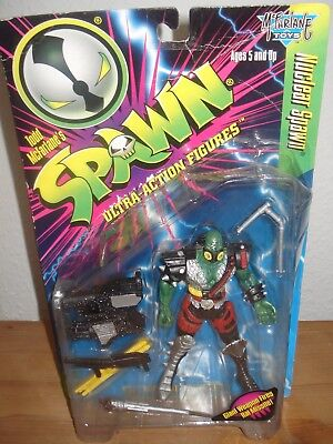 1996 Mcfarlane Toys Spawn Series 5 Nuclear (Green) Spawn Action Figure