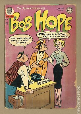 Adventures of Bob Hope #28 1954 GD- 1.8 Low Grade