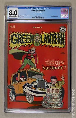 Green Lantern (Golden Age) #24 1947 CGC 8.0 0746205007