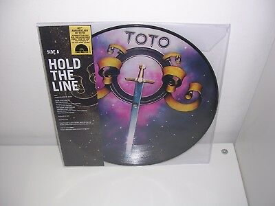 """Black Friday 2017: Toto - Hold The Line Ltd Picture Disc 10"""" Single Mint"""