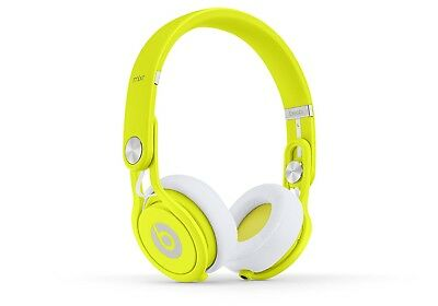 Beats Mixr by Dr. Dre Lightweight DJ On-Ear Wired Headphones - Neon Yellow