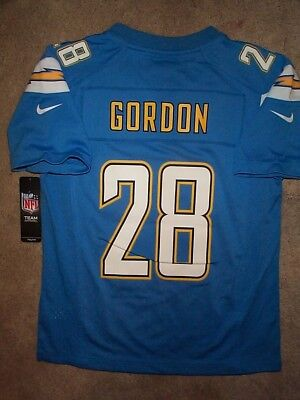 839225b7421 ($75) NIKE Los Angeles Chargers MELVIN GORDON Jersey YOUTH KIDS BOYS (m-