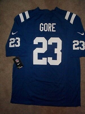 ( 100) NIKE Indianapolis Colts FRANK GORE nfl Jersey Adult MENS MEN S (xl 62bc20776