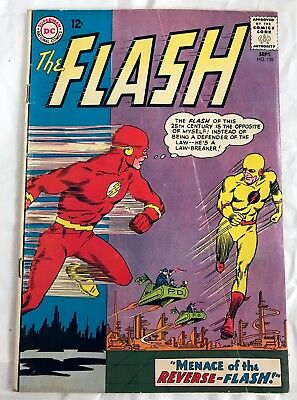 The Flash 139 (1St Appearance Of Reverse-Flash) - Key Issue - Vg- Condition