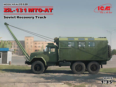 ICM 35520 ZiL-131 MTO-AT Soviet Recovery Truck in 1:35