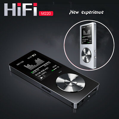 "M220 HIFI MP3 1.8"" TFT 8GB Lossless Music Player FM Radio Support APE FLAC WAV"