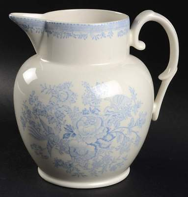 Burgess & Leigh ASIATIC PHEASANTS BLUE Etruscan Jug 5793684