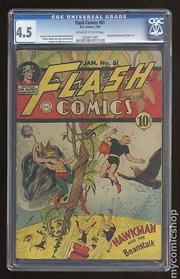 Flash Comics (DC) #61 1945 CGC 4.5 0204611007
