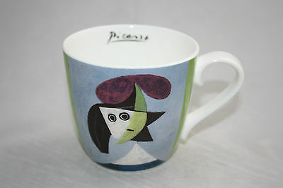 Pablo Picasso Woman with a hat (Olga) Könitz Porzellan Bone China 400ml Tasse