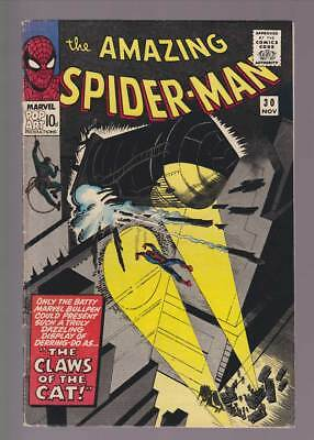 Amazing Spider-Man # 30  The Claws of the Cat !  grade 5.0 scarce book !