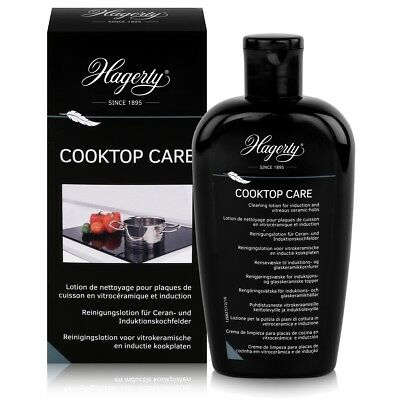 Hagerty Cooktop Care - Reinigungslotion Induktionskochfelder 250ml (1er Pack)