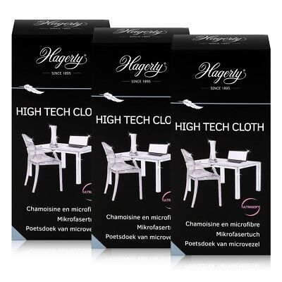 Hagerty High Tech Cloth - Extra weiches Mikrofasertuch 40x36cm (3er Pack)