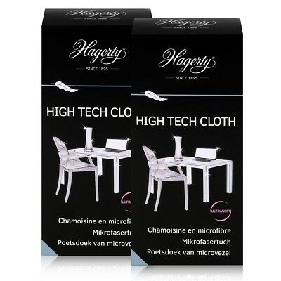 Hagerty High Tech Cloth - Extra weiches Mikrofasertuch 40x36cm (2er Pack)