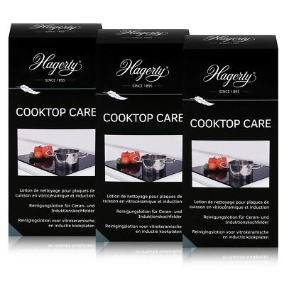 Hagerty Cooktop Care - Reinigungslotion Induktionskochfelder 250ml (3er Pack)